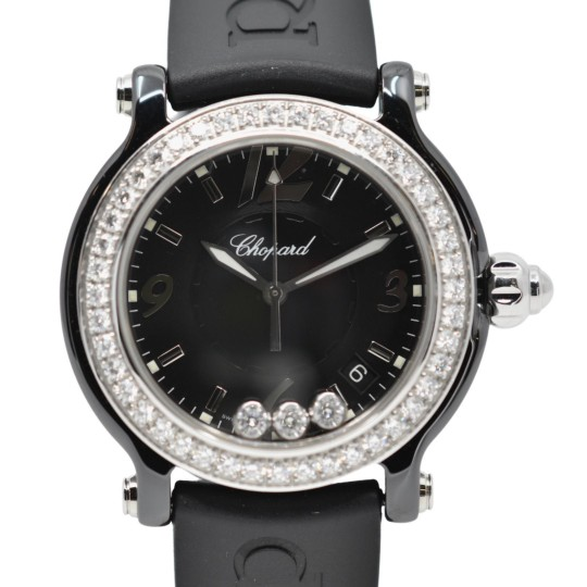 Chopard Happy Sport Ceramic Diamond Custom