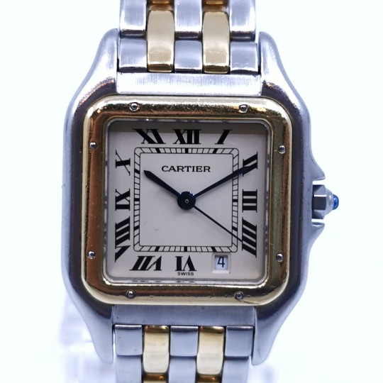 Cartier Panthere steel/gold 27mm 183949