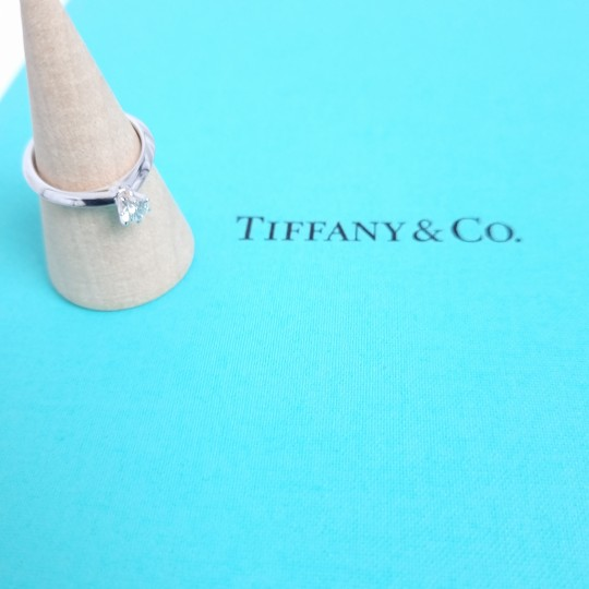 BAGUE TIFFANY & CO. SOLITAIRE