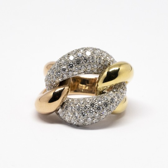 Bague Or 18K & Diamants