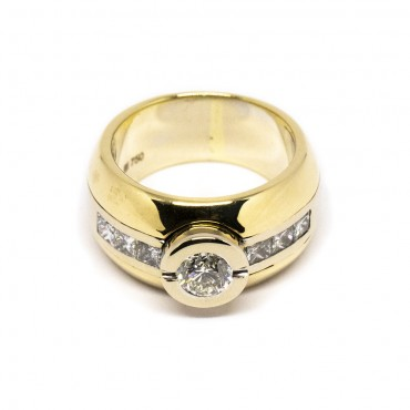 Bague en Or 18K & Diamants