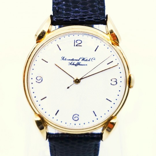 IWC classic solid gold 18k