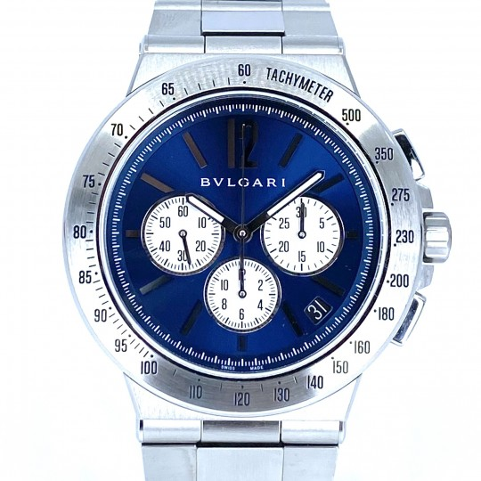 BULGARI DIAGONO CHRONO 41MM