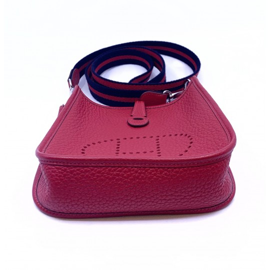 hermès Evelyne III mini rouge