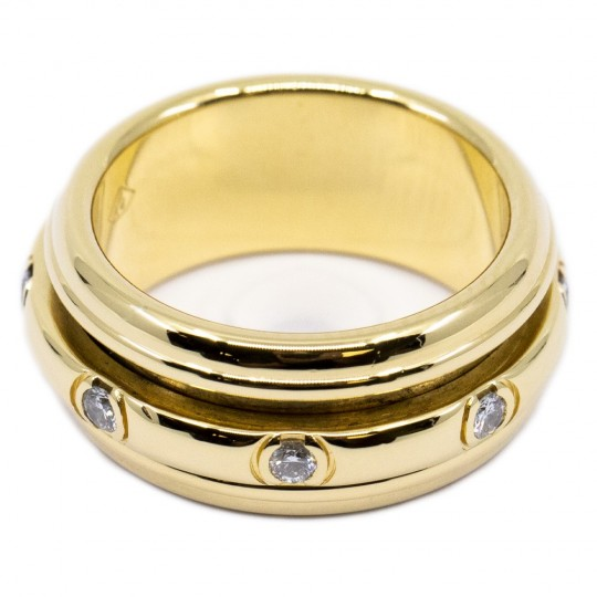 Bague Piaget 18k Jaune Or