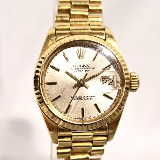 ROLEX LADIE DATEJUST OYSTER PERPETUAL