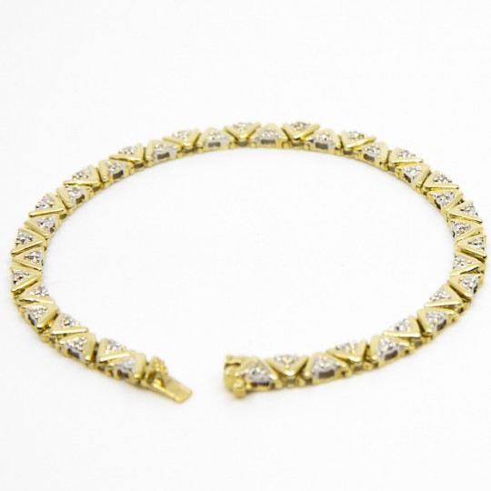 Bracelet en Or 18K et Diamants